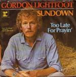 Gordon Lightfoot - Sundown cover
