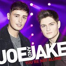 Joe and Jake - You're Not Alone (Eurovision 2016 UK entry) cover