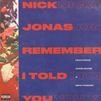 Nick Jonas - Remember I Told You cover