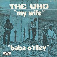 The Who - Baba O'Riley cover