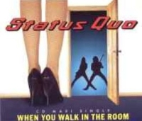 Status Quo - When You Walk In The Room cover