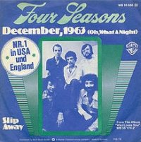 The Four Seasons - December 1963 (Oh What A Night!) cover