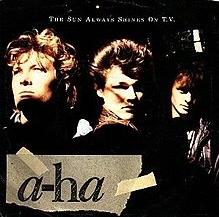 a-ha - The Sun Always Shines on TV cover