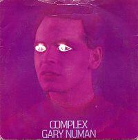 Gary Numan - Complex cover