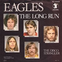 The Eagles - The Long Run cover