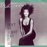 Whitney Houston - Didn't We Almost Have It All? cover