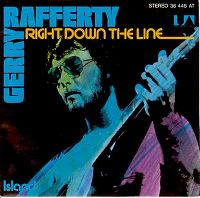 Gerry Rafferty - Right Down The Line cover