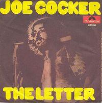 Joe Cocker - The Letter cover