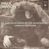 Paul Simon - Me and Julio Down By the Schoolyard cover