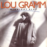 Lou Gramm (of Foreigner) - Midnight Blue cover