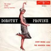 Dorothy Provine - Don't Bring Lulu cover