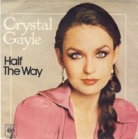 Crystal Gayle - Half the Way cover