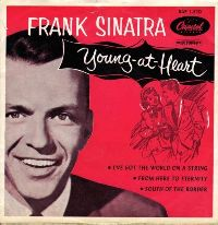 Frank Sinatra - Young at Heart cover