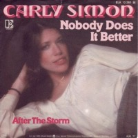 Carly Simon - Nobody Does It Better cover