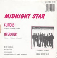 Midnight Star - Curious cover