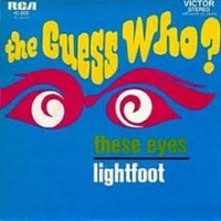 The Guess Who - These Eyes cover