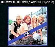 ABBA - The name of the game cover